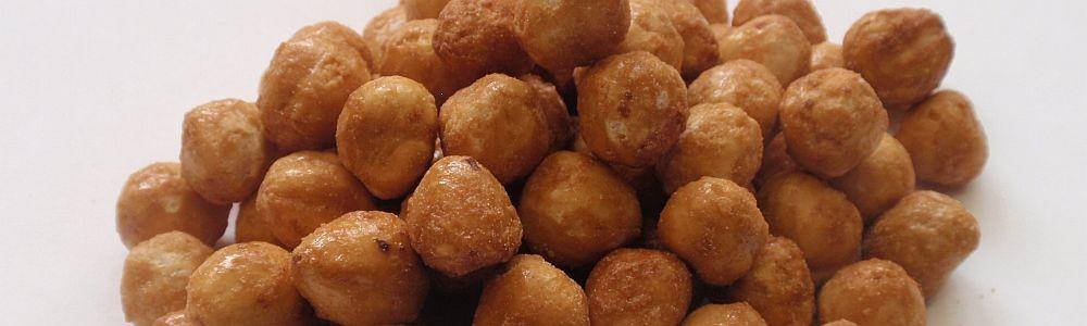 Zpracované suché plody